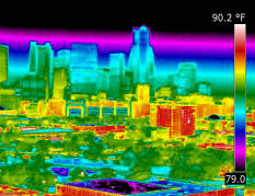 Commercial infrared scans in Dallas